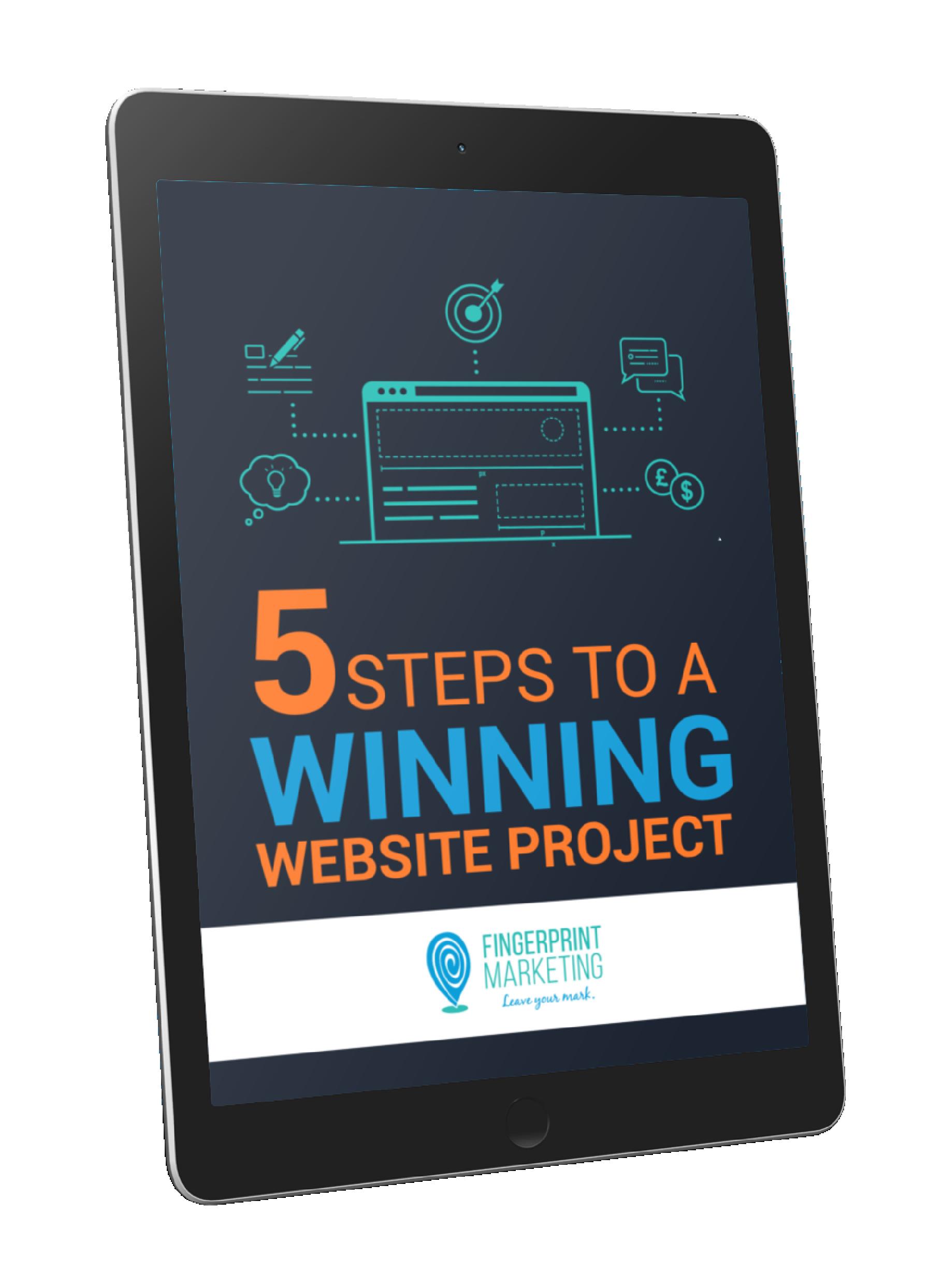 5 Steps To A Winning Website